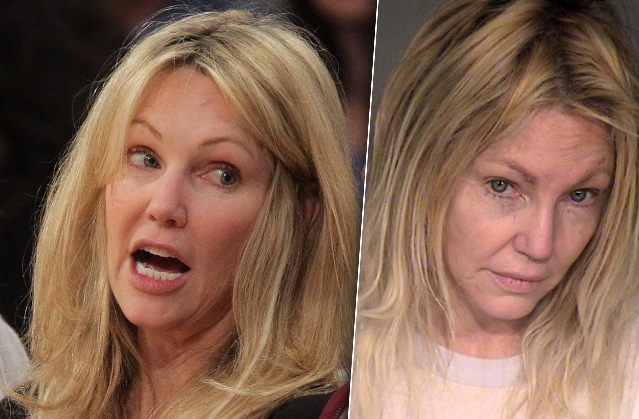 //heather locklear arrest charges misdameanor pp