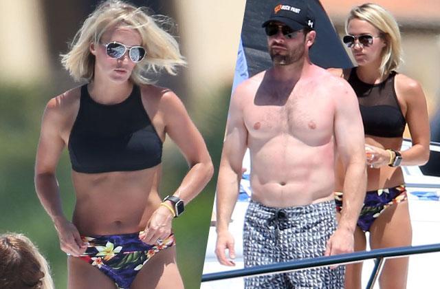 Carrie Underwood Bikini Mike Fisher Yacht Cabo