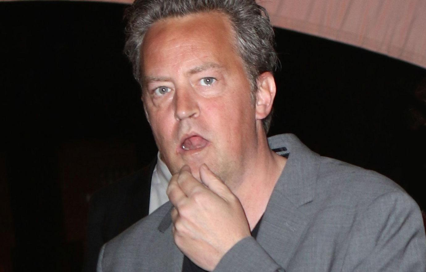 Matthew Perry Admits He Spent Three Months In Hospital Bed
