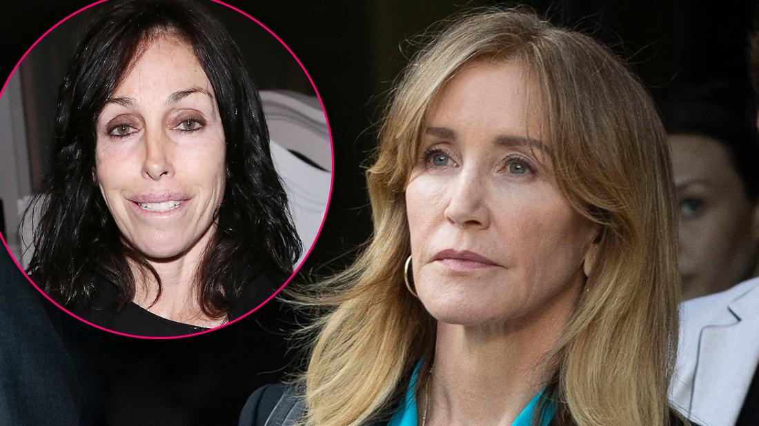 Heidi Fleiss Inset Warns Felicity- Huffman About Club Fed Prison Looking Terrified