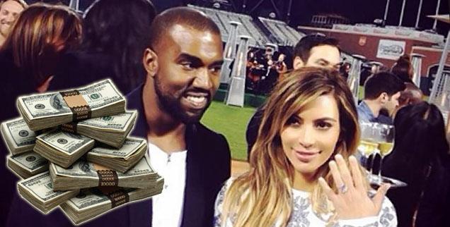 //kanye west kim kardashian refuse charity donation