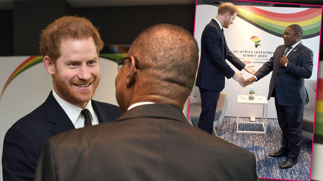 Prince Harry Attends UK-Africa Summit After Royal Exit Speech