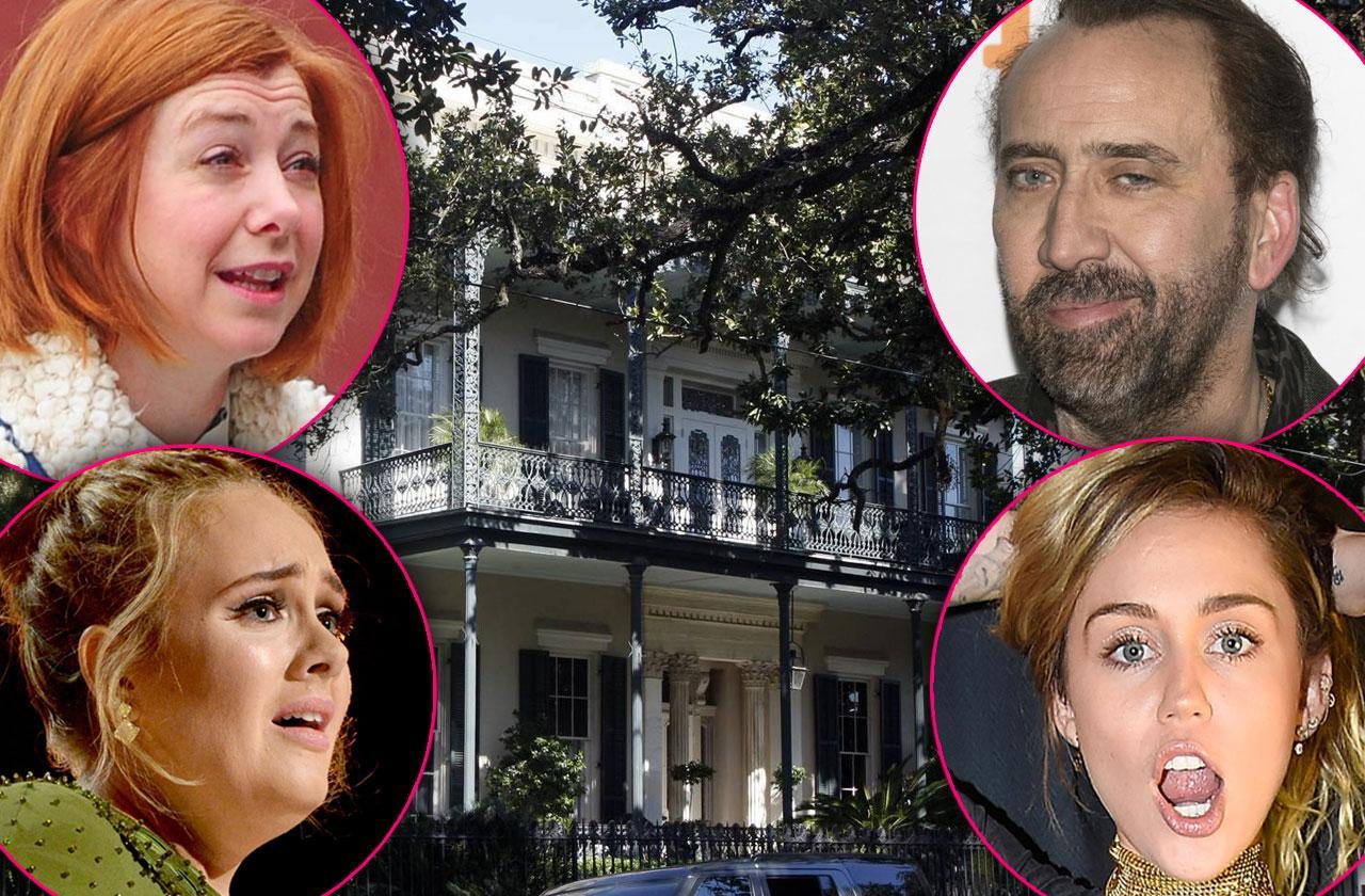 celebrity haunted houses halloween