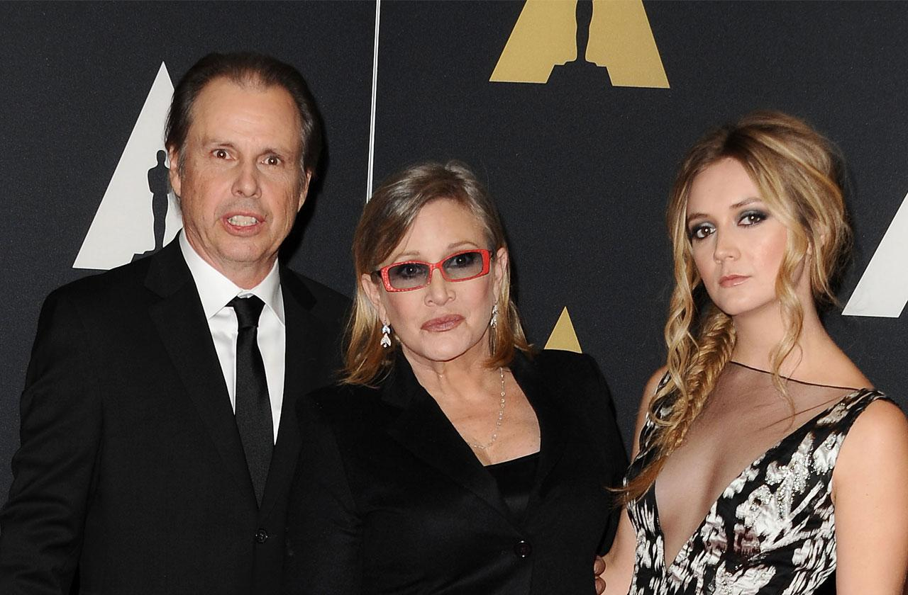 //Carrie Fisher Brother Todd Last Relapse Before Death Drove Daughter High pp