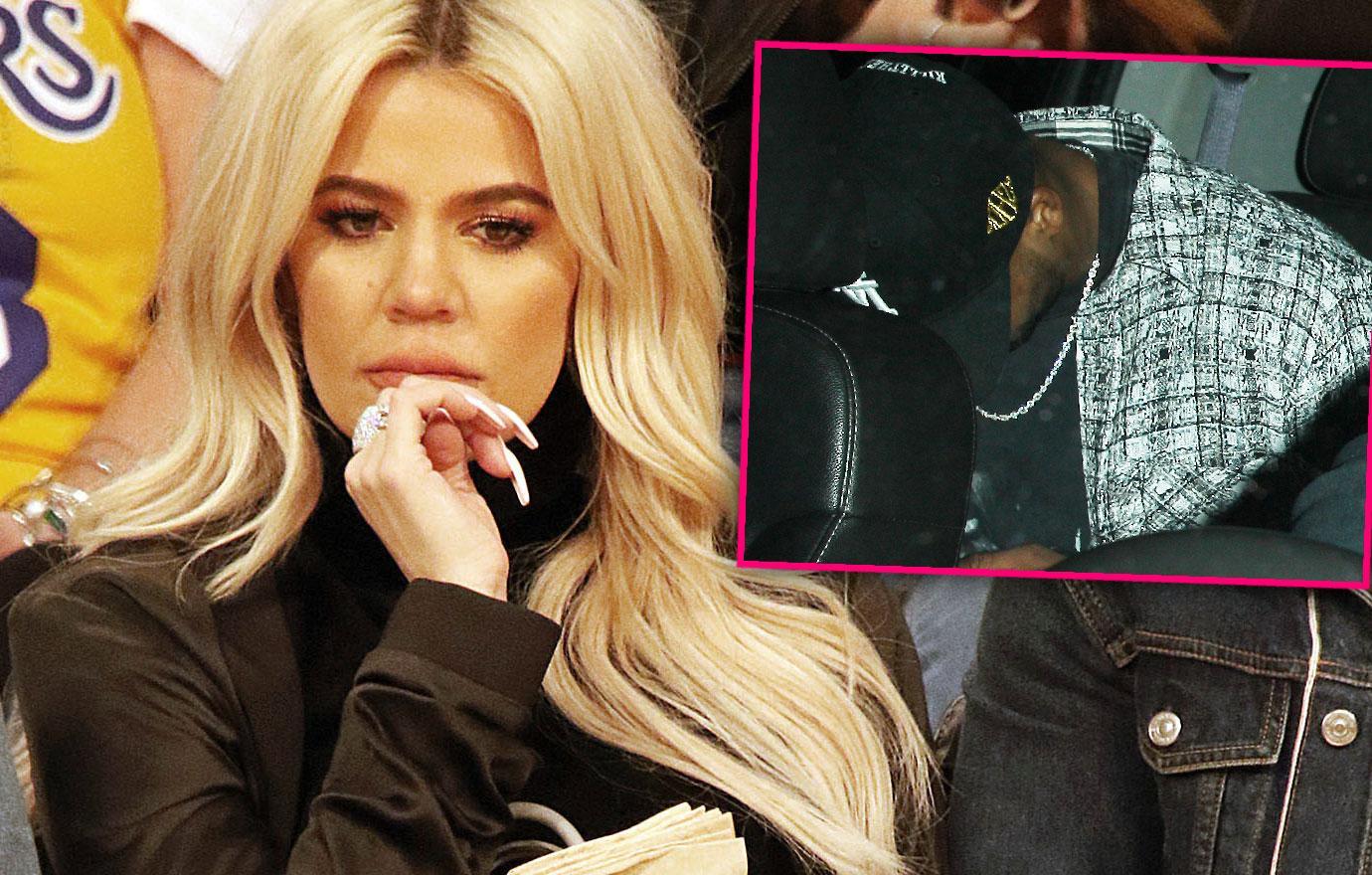 Khloe Kardashian Baby Daddy Tristan Leaves Restaurant After Split