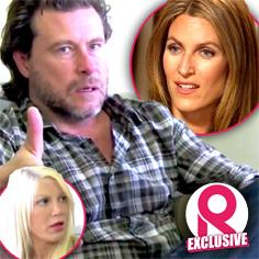 //tori spelling cheating husband dean mcdermott claimed first wife adultery divorce sq