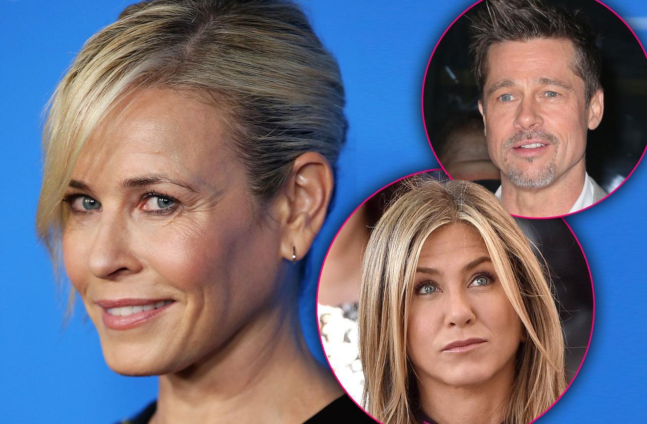 Chelsea Handler & Jennifer Aniston Feud Brad Pitt Friends