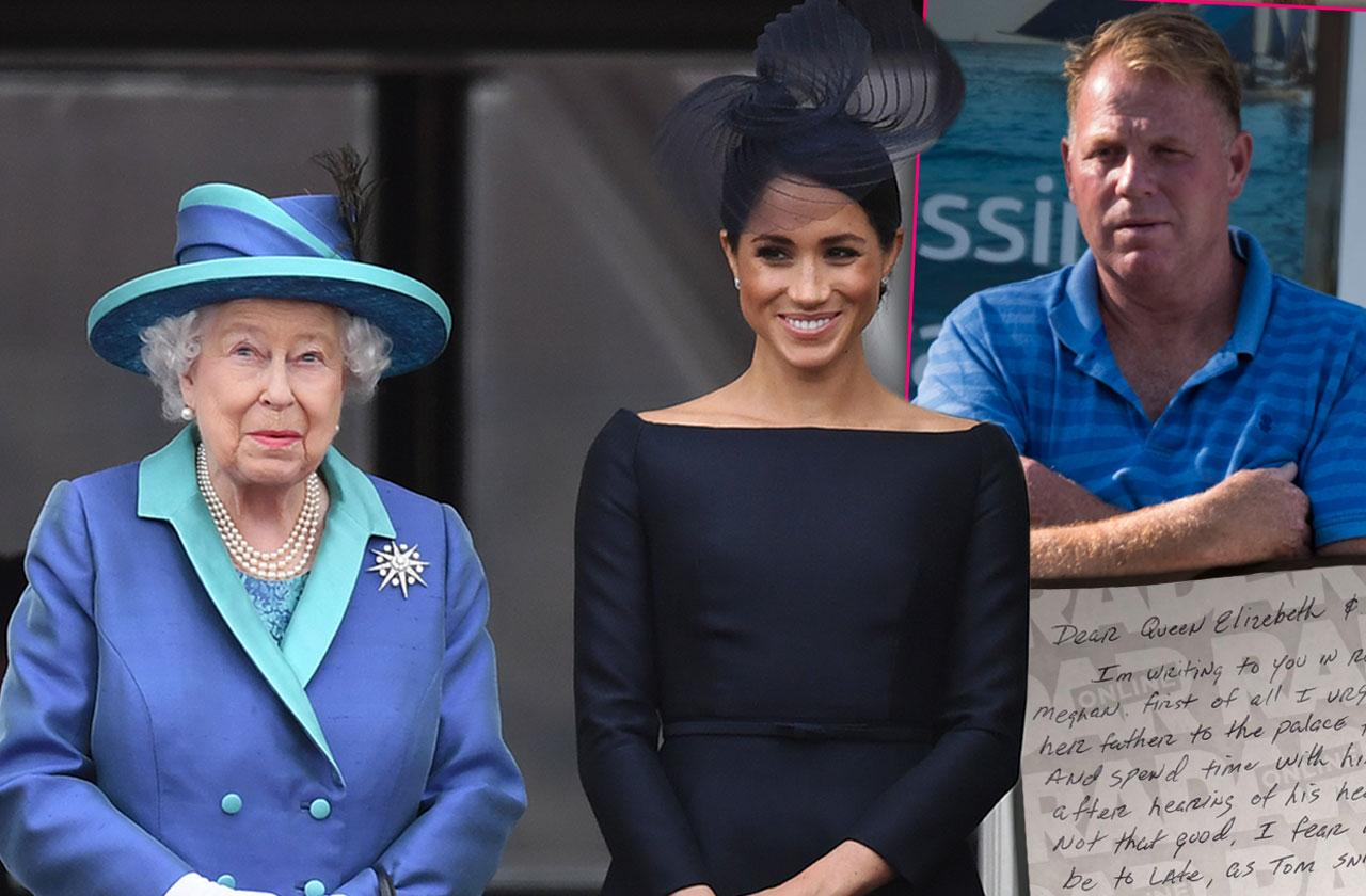 Meghan Markle Brother Begs Queen In Letter Give Our Dad Royal Title