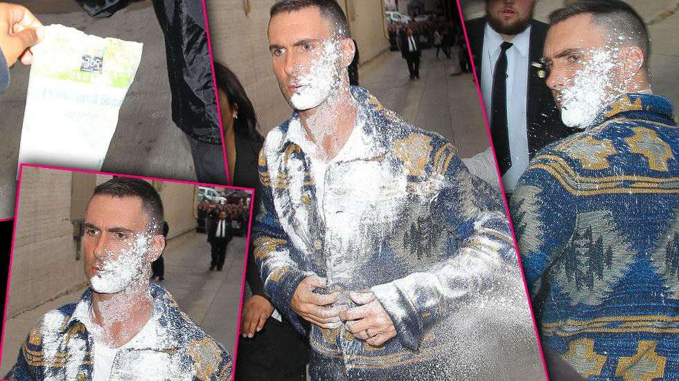 Adam Levine Sugar Bomb Photos