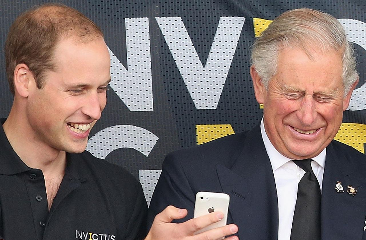 Prince William Prince Charles Infatuated With Squirrels