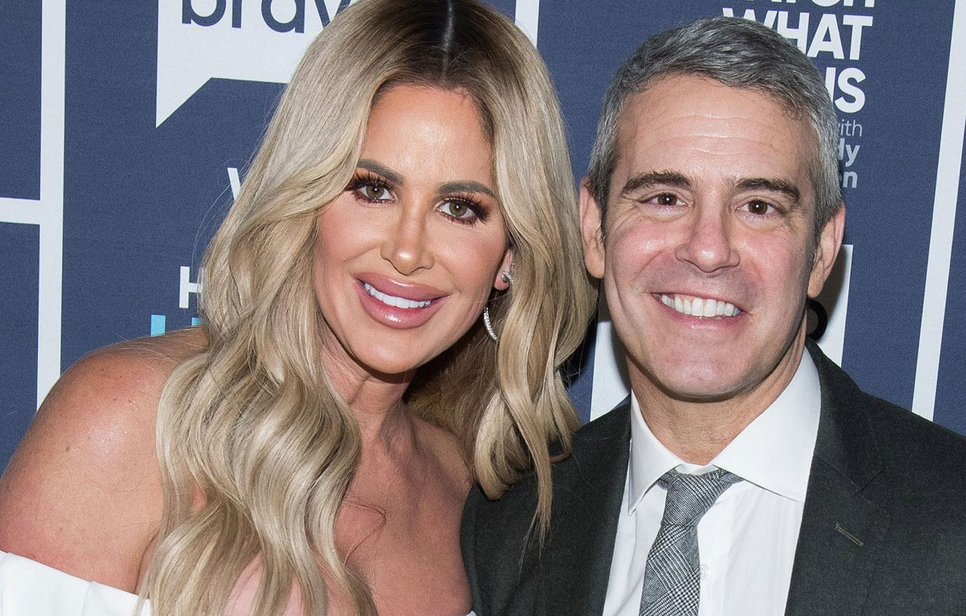 Andy Cohen Says Kim Zolciak Is Finished On Rhoa