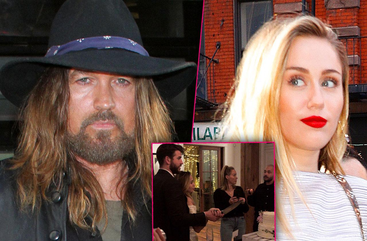 Miley Cyrus Father Billy Ray Skips Wedding