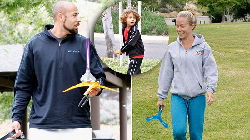 //kendra wilkinson hank baskett divorce rumors family outing