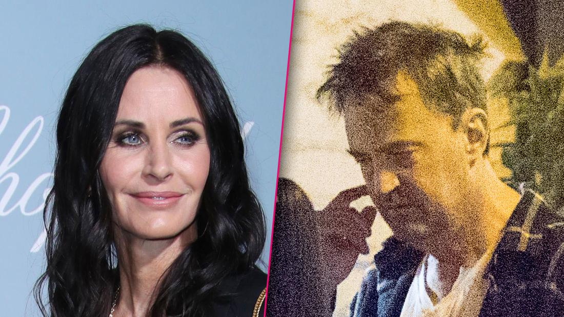Courteney Cox Posts Photo With 'Friends' Matthew Perry
