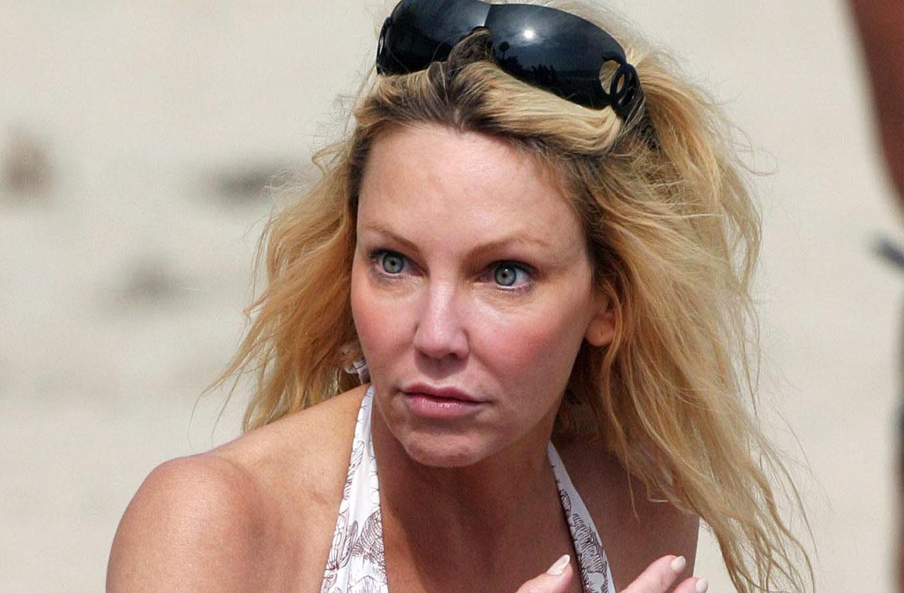 //Heather Locklear Arrested Domestic Violence Battery pp