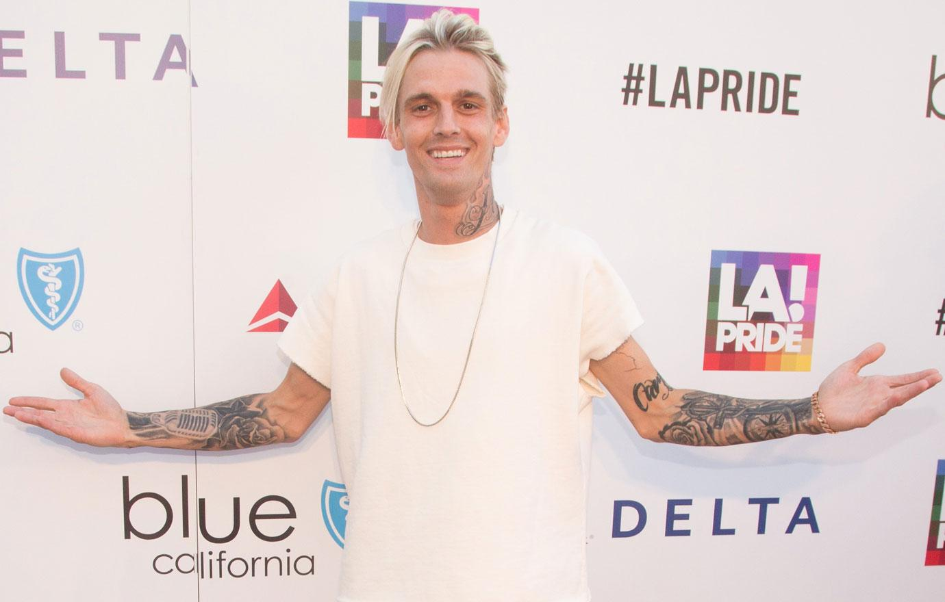 Aaron Carter Comes Out As Bisexual Letter To Fans