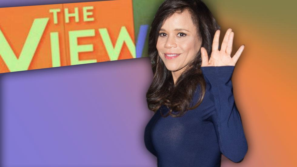 Rosie Perez 'The View'