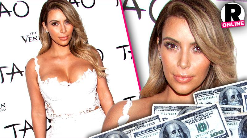 //kim kardashian tao nightclub offered  birthday pp sl