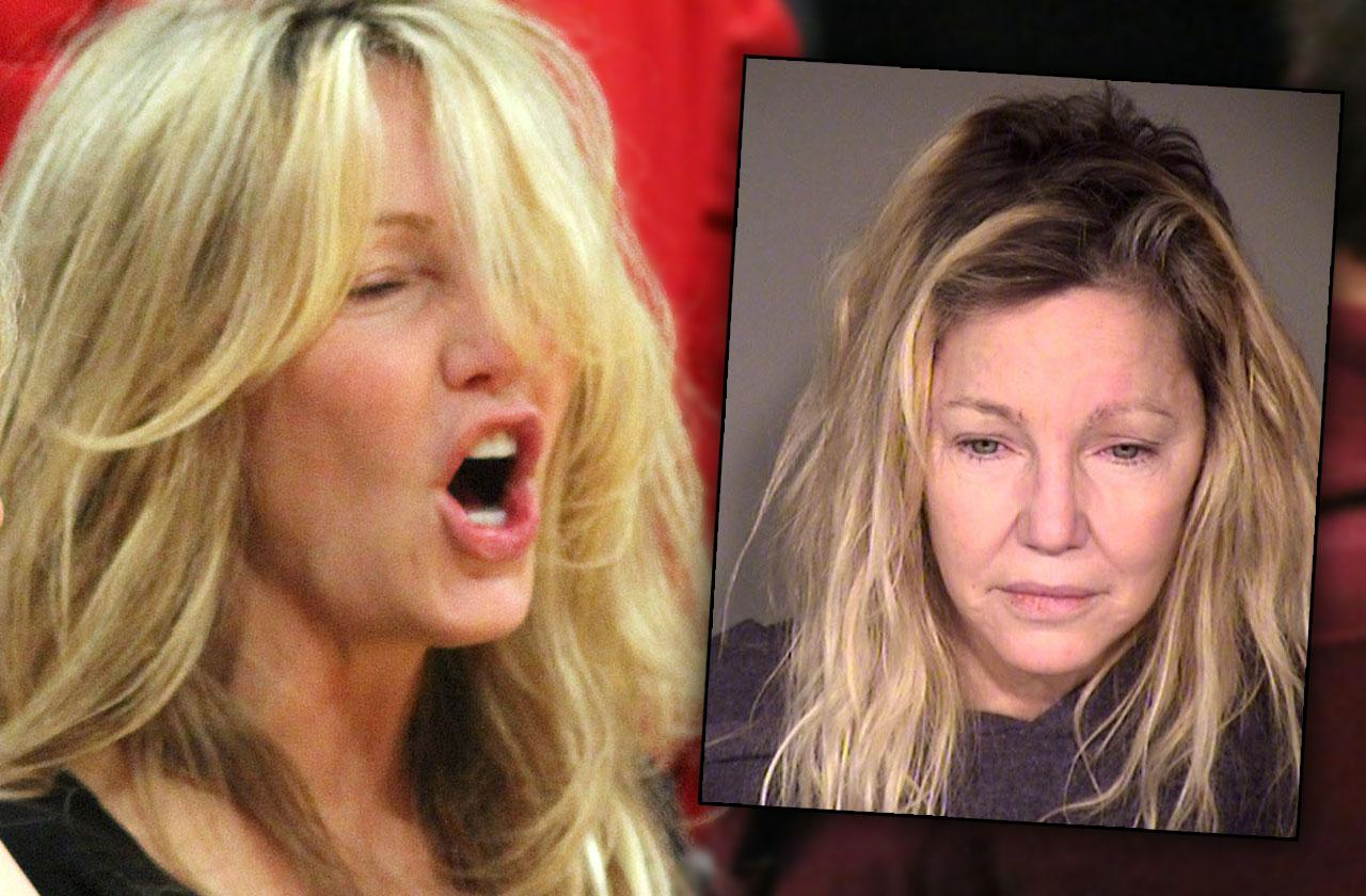 Heather Locklear Charged Battery