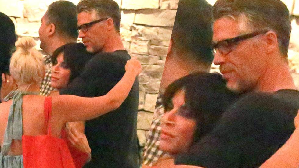 Sandra Bullock Bryan Randall Dating Kiss Cuddle Dinner