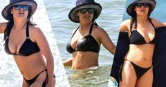 Salma Hayek Bikini Photos On Yacht In Hawaii