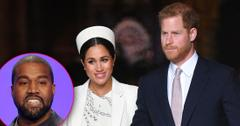 Kanye West Wants Harry & Meghan To Attend Sunday Services
