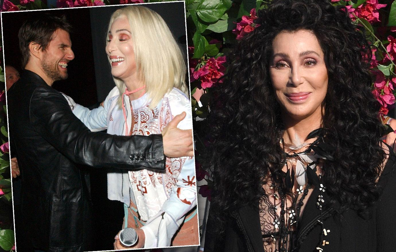 Cher Reveals Bizarre Fling With Tom Cruise