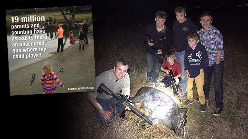 Duggar Family Guns Brady Campaign