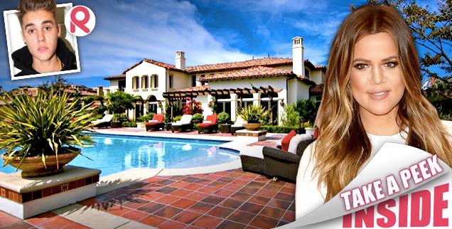//khloe kardashian buys justin bieber calabasas mansion wide