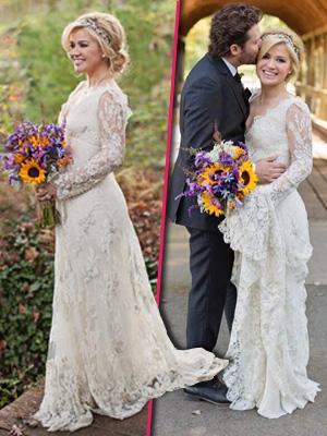 //kelly clarkson wedding details tall