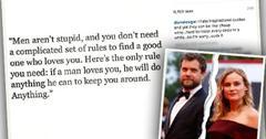 //diane kruger joshua jackson break up rumors instagram message pp