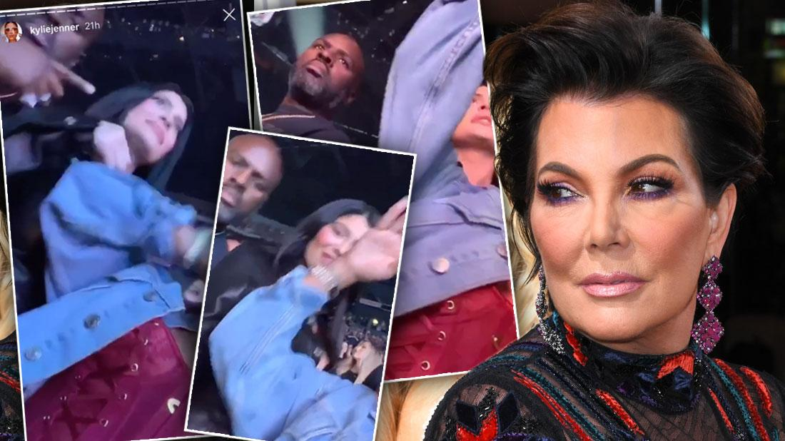 Kylie Jenner Grinds On Mom's Boyfriend Corey Gamble At Concert