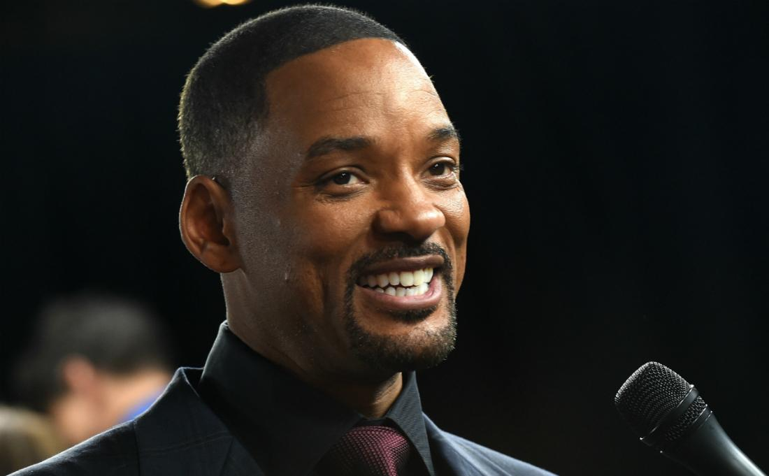 Will Smith is among the celebrities with the highest SAT scores although he chose not to go to college.