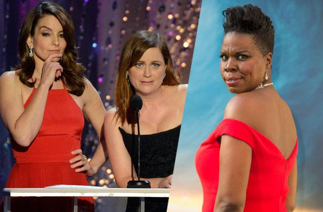 Amy Poehler Tina Fey Leslie Jones Oscar Host