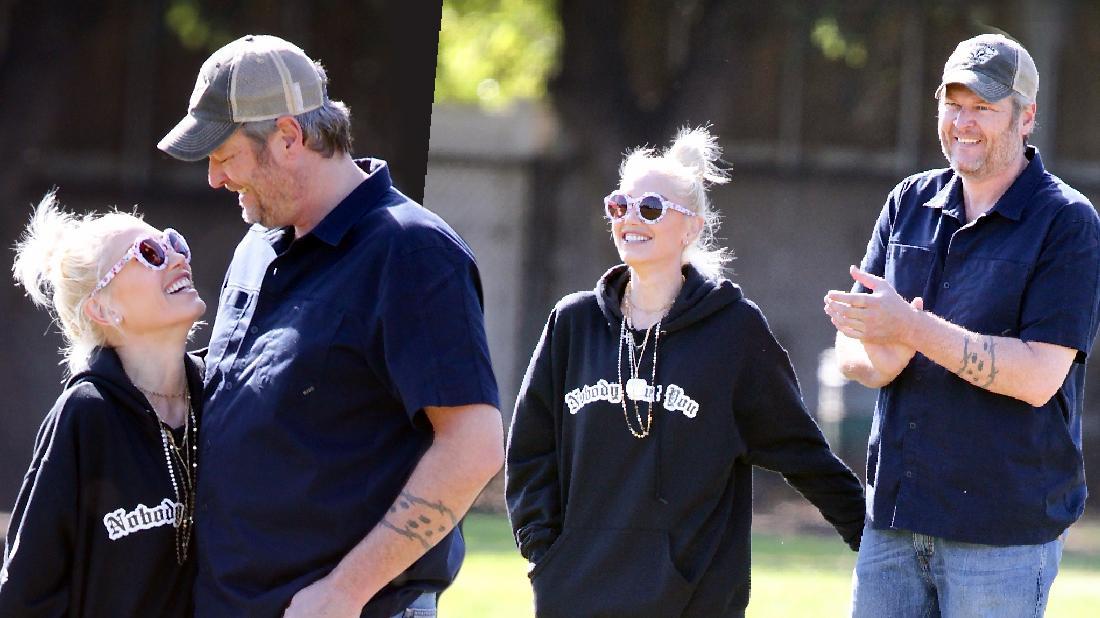 Gwen Stefani Blake Show Park PDA After Separation