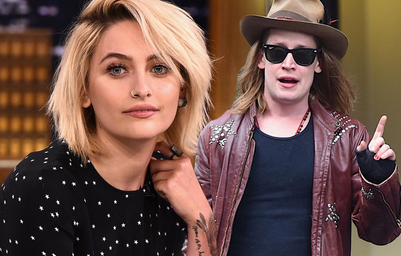 Paris Jackson And Macaulay Culkin Get Matching Spoon Tattoos