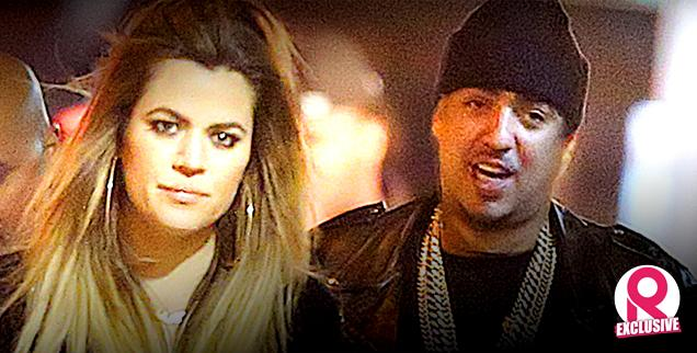 //khloe kardashian blowing off family new boyfriend french montana wide