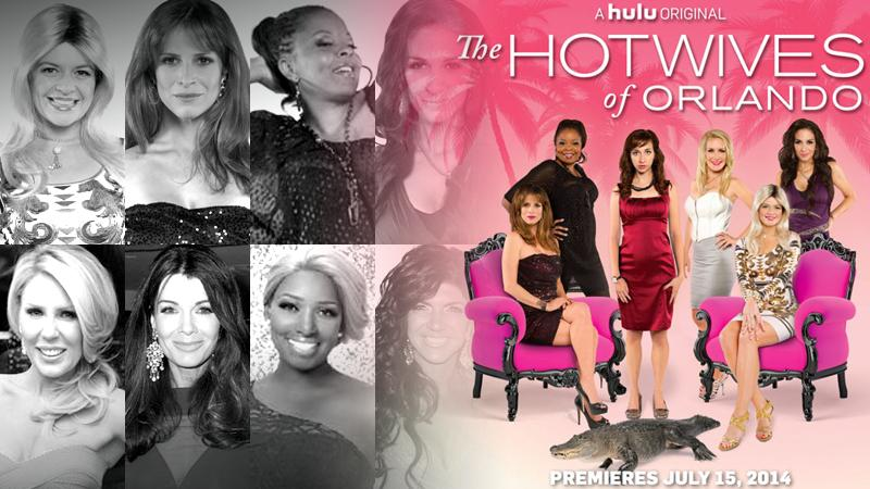 //see how the hulu hotwives spoof your favorite reality tv wives pp