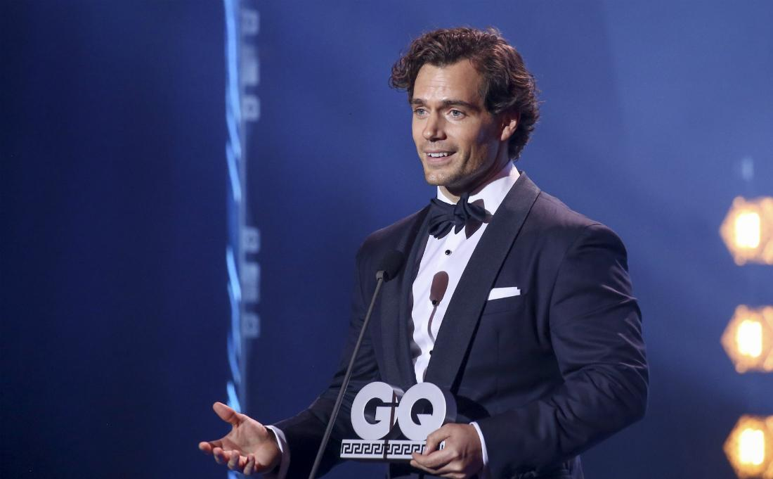 British actor and award winner Henry Cavill was seen on stage during the GQ Men of the Year Award show at Komische Oper on November 8, 2018 in Berlin, Germany
