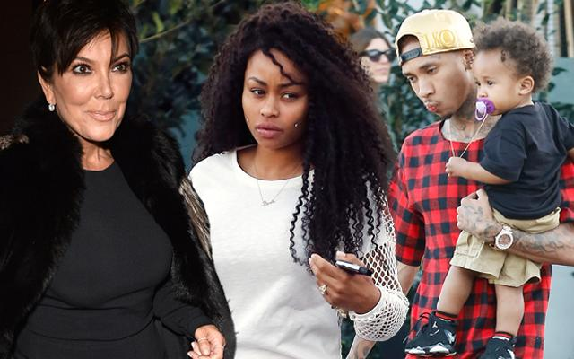 Kris Jenner Tyga Blac Chyna Custody