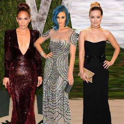 //oscar party style j lo katy perry wenn