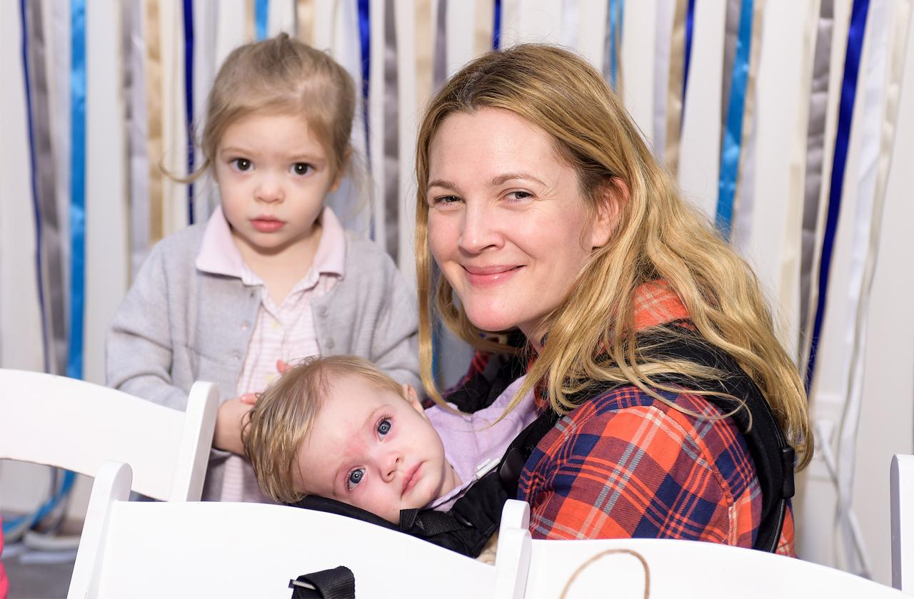 //drew barrymore cares about being a good mom pp