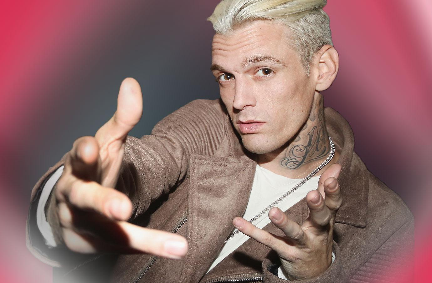 //aaron carter released from jail madison parker detained pp