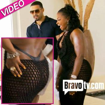 Monster big black booty Phaedra Is Bootylicious Parks Shakes Her Buns On Rhoa