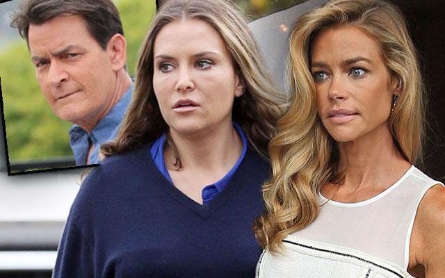 Charlie Sheen Child Support Denise Richards Brooke Mueller