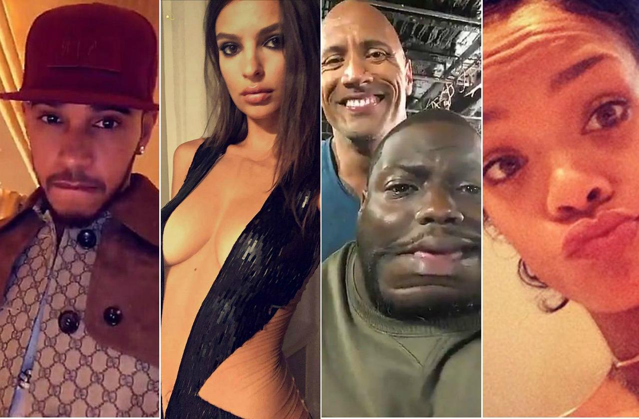 Celebrity-Snapchat