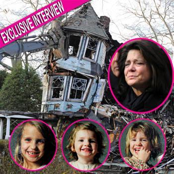 //madonna badger house fire hysterical children