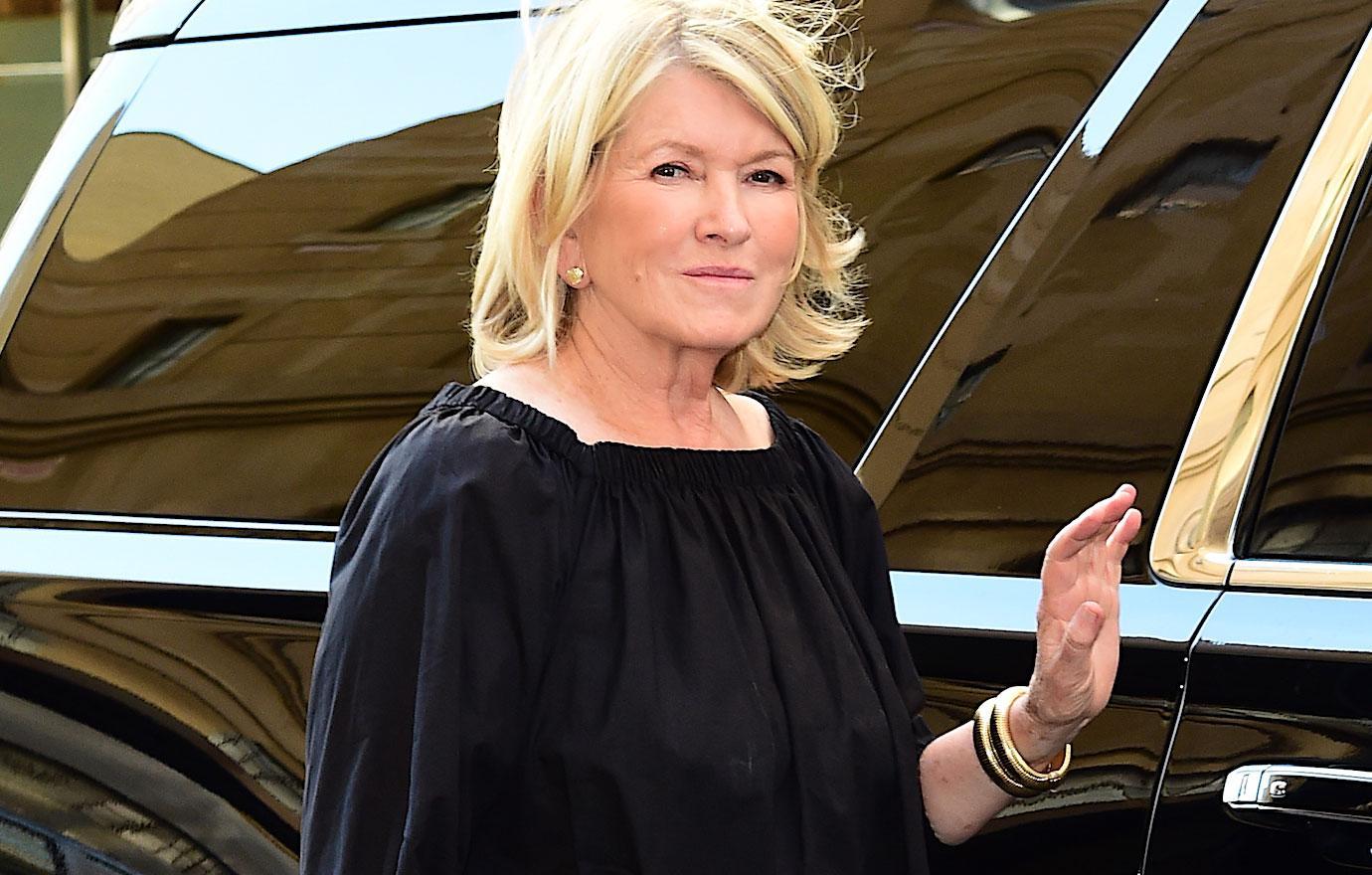 Martha Stewart Delivers Eulogy For Rumored Boyfriend Plane Crash