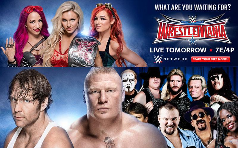 WWE Wrestle Mania Sneak Peek