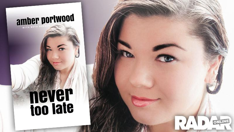 //amber portwood book cover revealed selfie symbolic journey i took never too late pp sl